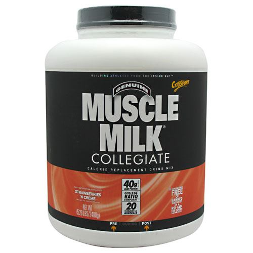 CytoSport Collegiate Muscle Milk - Strawberry Creme - 5.29 lb