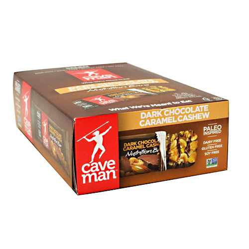 Caveman Foods Caveman Nutrition Bar - Dark Chocolate Caramel Cashew - 15 ea