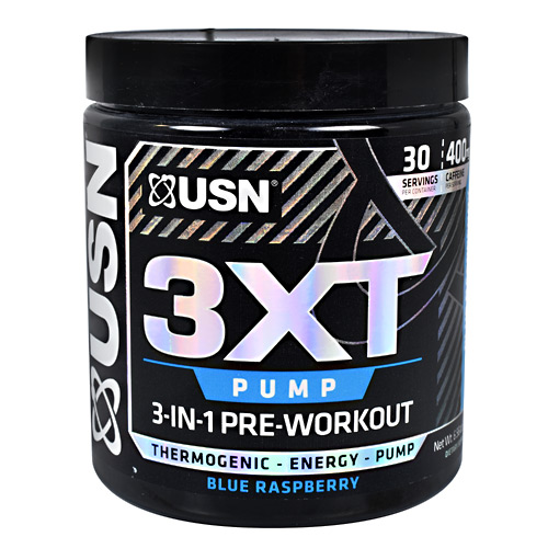 USN 3XT Pump - Blue Raspberry - 30 ea