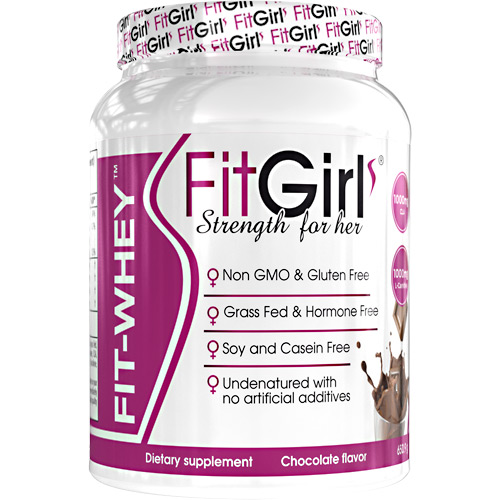Fit Girl Fit-Whey - Chocolate - 23 ea