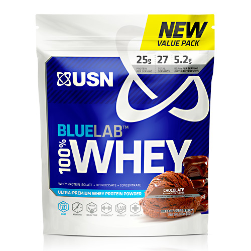 USN Blue Lab 100% Whey - Molten Chocolate - 2 lb