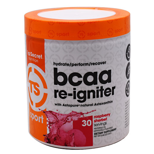 Top Secret Nutrition Sport BCAA Re-Igniter - Raspberry Sherbert - 30 ea