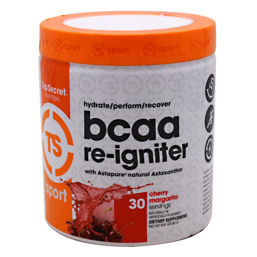 Top Secret Nutrition Sport BCAA Re-Igniter - Cherry Margarita - 30 ea