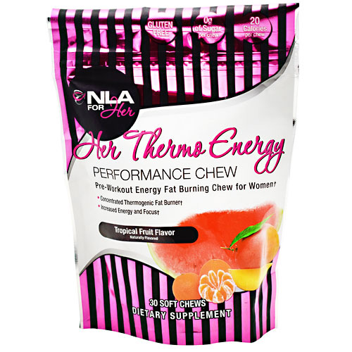 NLA For Her Her Thermo Energy - Tropical Fruit - 30 ea