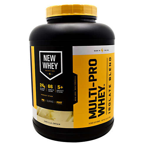 New Whey Nutrition Multi-Pro Whey - Vanilla Cream - 5 lbs
