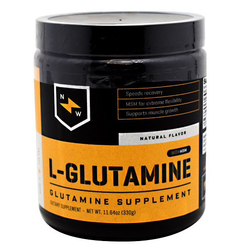 New Whey Nutrition L-Glutamine - Natural Flavor - 60 ea