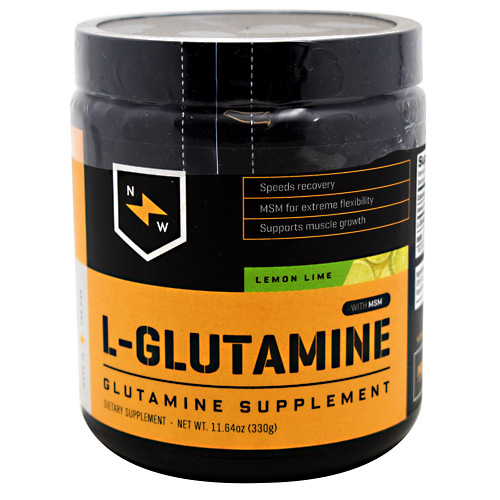 New Whey Nutrition L-Glutamine - Lemon Lime - 60 ea