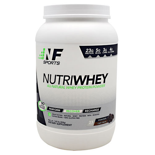 NF Sports NutriWhey - Cafe Cream - 23 ea