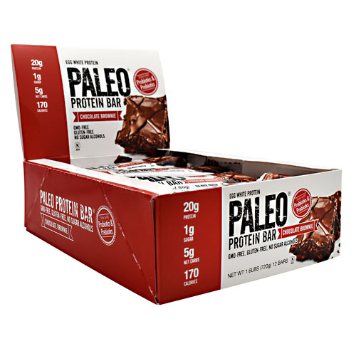 Julian Bakery Paleo Protein Bar - Chocolate Brownie - 12 ea