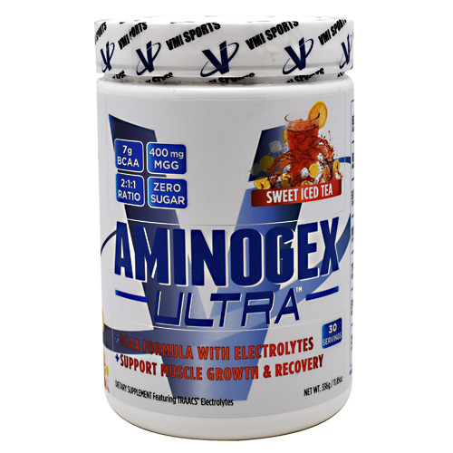 VMI Sports Aminogex Ultra - Sweet Iced Tea - 30 ea