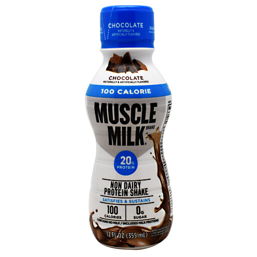CytoSport 100 Calorie Muscle Milk RTD - Chocolate - 12 ea