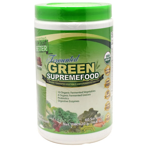 Divine Health Green Supreme Food - Apple Cinnamon - 60 ea