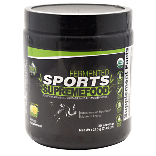 Divine Health Fermented Sports Supremefood - Lemon-Lime - 30 ea