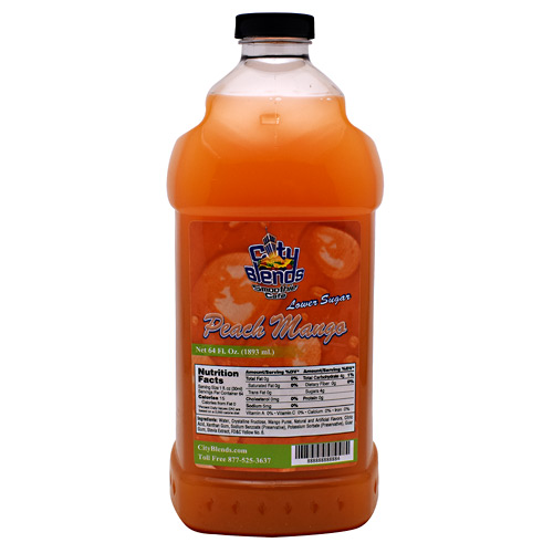 City Blends Concentrated Drink Mix - Peach Mango - 64 fl oz