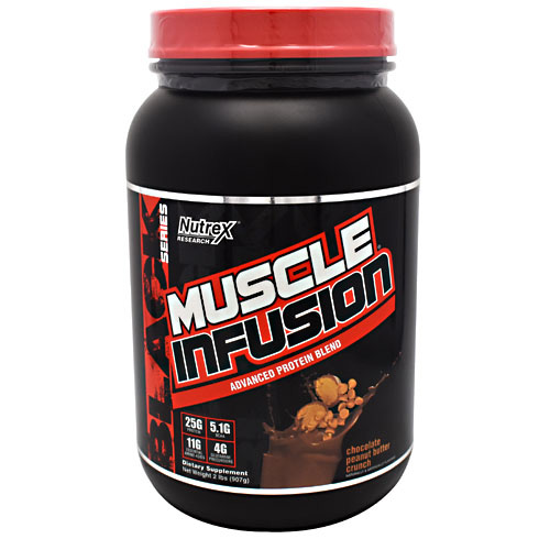Nutrex Research Black Series Muscle Infusion - Chocolate Peanut Butter Crunch - 2 lb