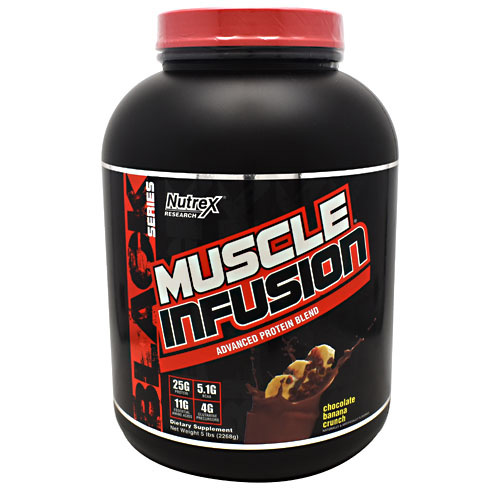 Nutrex Research Black Series Muscle Infusion - Chocolate Banana Crunch - 5 lb