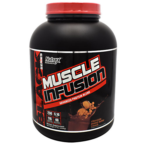 Nutrex Research Black Series Muscle Infusion - Chocolate Peanut Butter Crunch - 5 lb