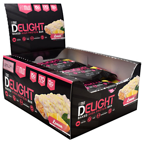 FitMiss Delight - Lemon - 12 ea