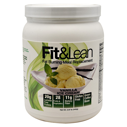 MHP Fit & Lean - Vanilla Ice Cream - 10 ea