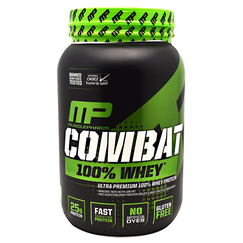 MusclePharm Sport Series Combat 100% Whey - Cappuccino - 2 lb