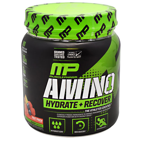 MusclePharm Sport Series Amino 1 - Fruit Punch - 30 ea