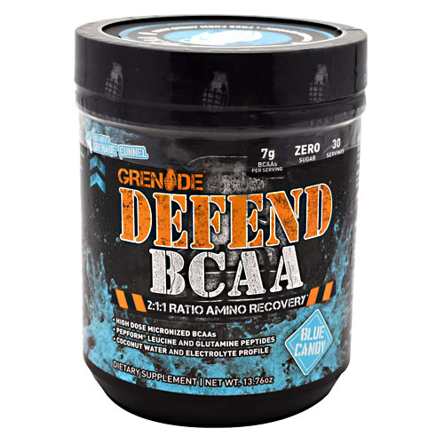 Grenade Defend BCAA - Blue Candy - 13.76 oz