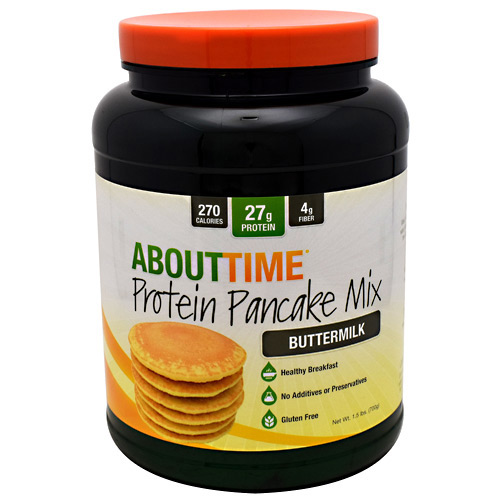 SDC Nutrition About Time Protein Pancake Mix - Buttermilk - 10 ea