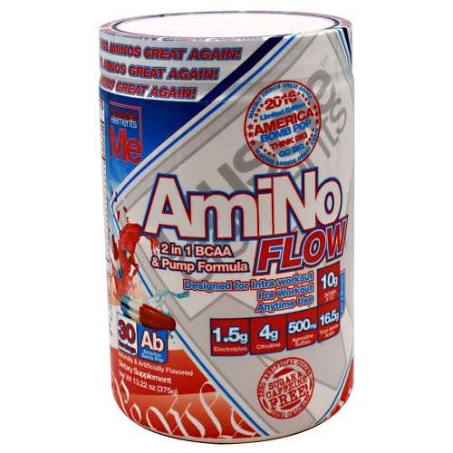 Muscle Elements AmiNo Flow - Fruit Punch - 30 ea