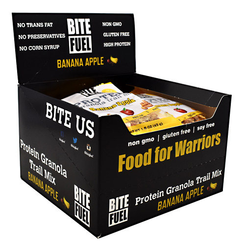 Bite Fuel Protein Granola Trail Mix - Banana Apple - 10 ea