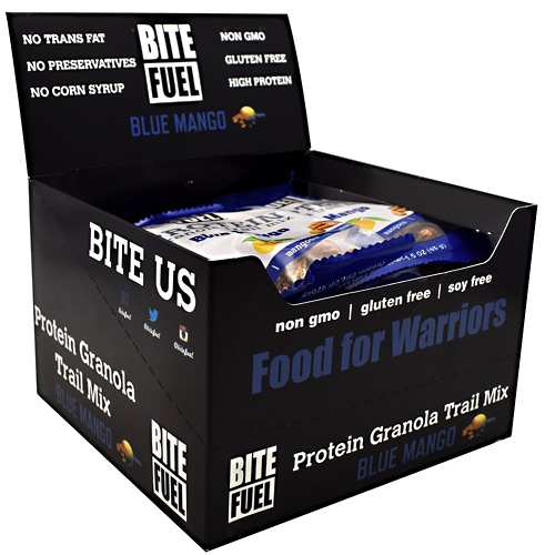 Bite Fuel Protein Granola Trail Mix - Blue Mango - 10 ea