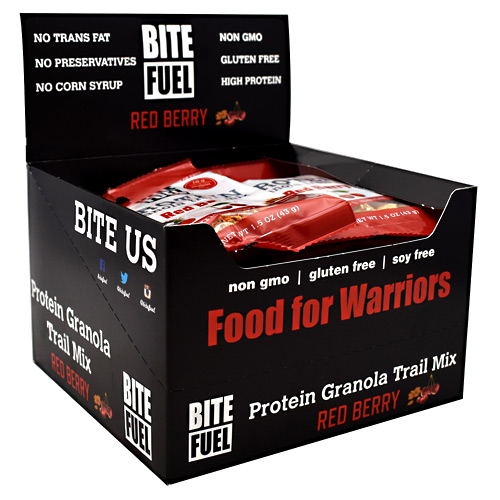 Bite Fuel Protein Granola Trail Mix - Red Berry - 10 ea