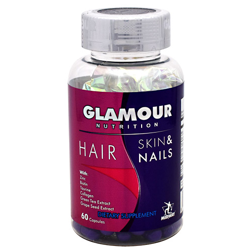 Midway Labs Glamour Nutrition Hair Skin & Nails - 60 ea