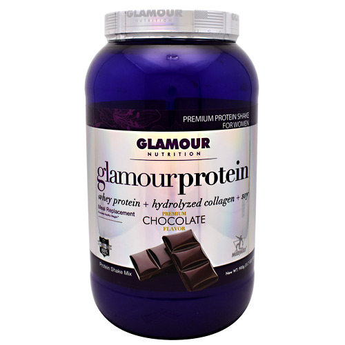 Midway Labs Glamour Nutrition Glamour Protein - Chocolate - 30 ea