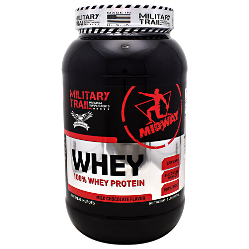 Midway Labs Military Trail Premium Supplements Whey - Milk Chocolate Flavor - 30 ea