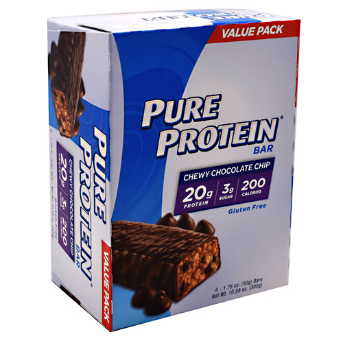 Pure Protein Pure Protein Bar - Chewy Chocolate Chip - 6 ea