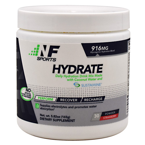 NF Sports Hydrate - Strawberry - 30 ea
