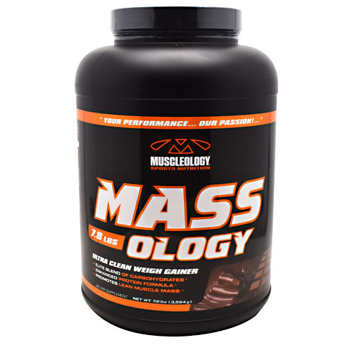 Muscleology Sports Nutrition Mass-Ology - Chocolate - 7.8 lbs