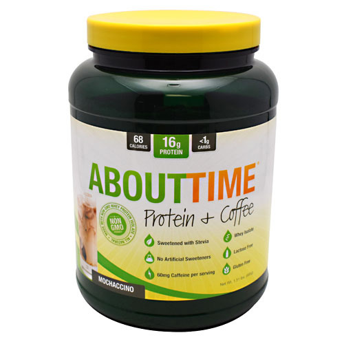 SDC Nutrition About Time Protein & Coffee - Mochaccino - 32 ea