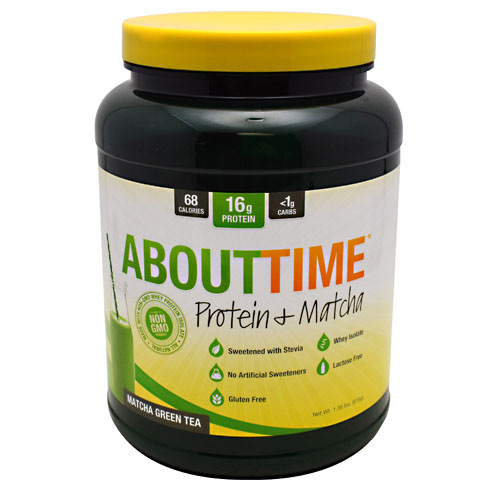 SDC Nutrition About Time Protein & Matcha - Matcha Green Tea - 32 ea