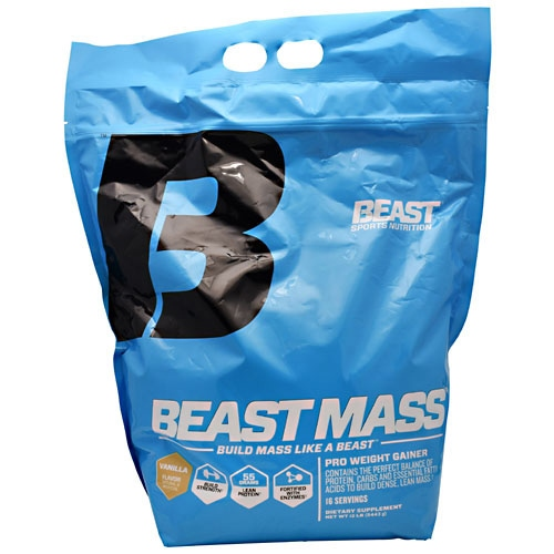 Beast Sports Nutrition Beast Mass - Vanilla - 12 lb