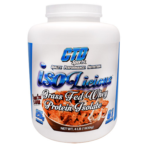 CTD Sports Isolicious - Cinnamon Cereal - 4 lb