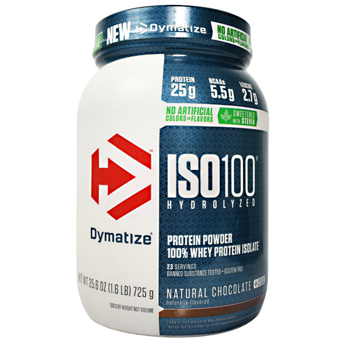 Dymatize Nutrition Natural ISO-100 - Natural Chocolate - 1.6 lb