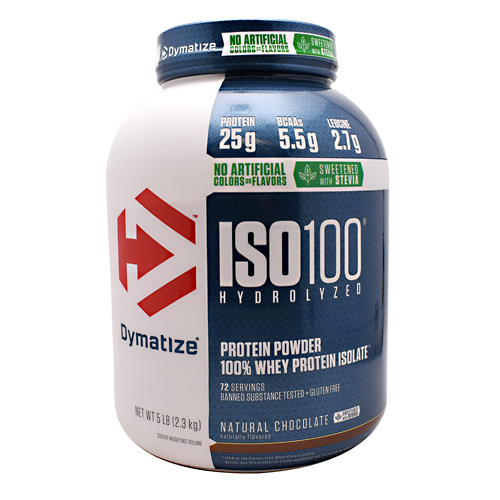 Dymatize Nutrition Natural ISO-100 - Natural Chocolate - 5 lb