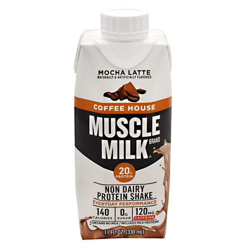 CytoSport Coffee House Muscle Milk RTD - Mocha Latte - 12 ea