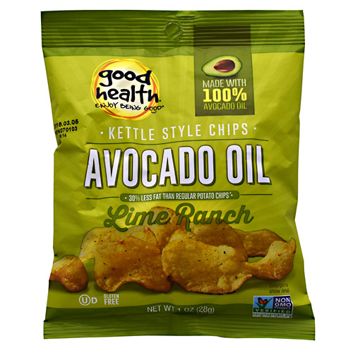 Good Health Kettle Chips - Lime Ranch - 30 ea