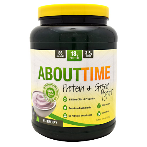 About Time About Time Protein & Greek Yogurt - Blueberry - 1.64 lbs