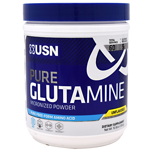 Ultimate Sports Nutrition Pure Glutamine - Unflavored - 60 ea