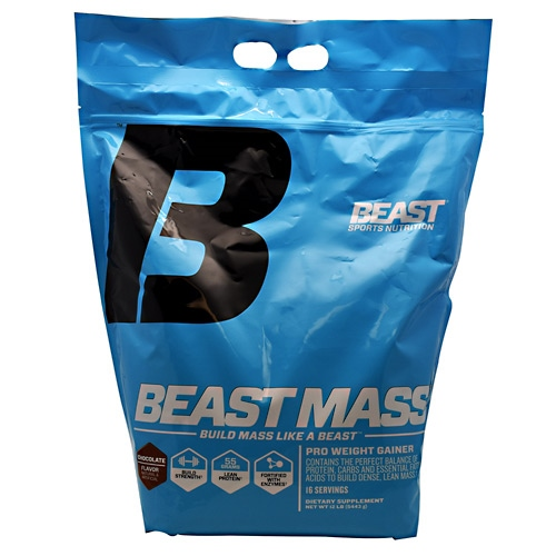 Beast Sports Nutrition Beast Mass - Chocolate - 12 lb