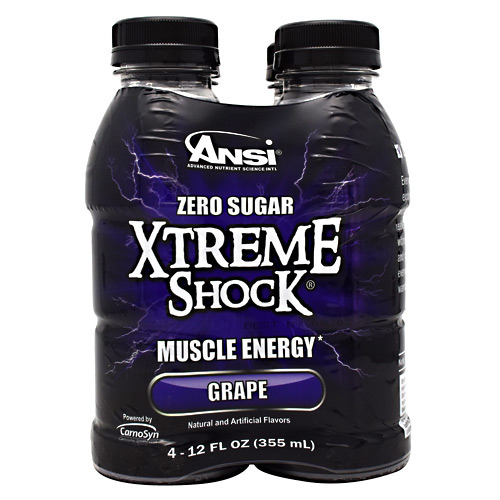 ANSI Xtreme Shock - Grape - 4 ea