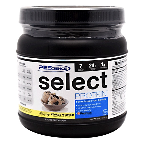 PEScience Select Protein - Amazing Cookies 'N Cream - 7 ea